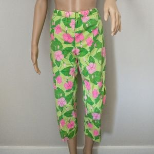 Lilly Pulitzer Pants Pant Capri Cropped Size MS St